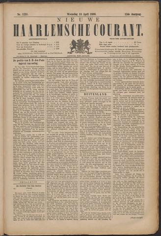 Nieuwe Haarlemsche Courant 1888-04-18