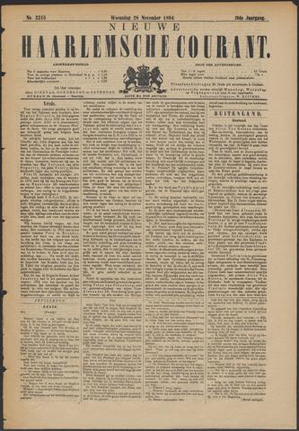 Nieuwe Haarlemsche Courant 1894-11-28
