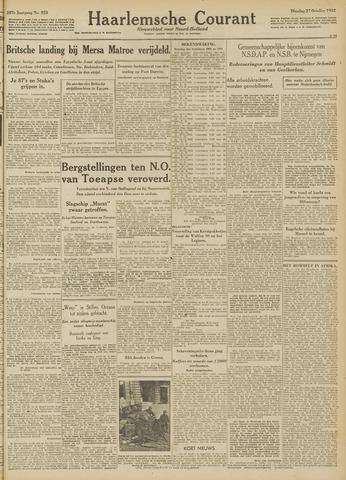 Haarlemsche Courant 1942-10-27