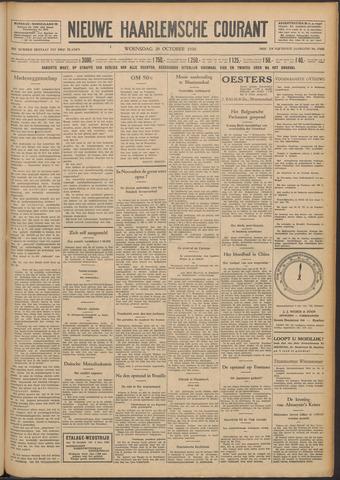 Nieuwe Haarlemsche Courant 1930-10-29