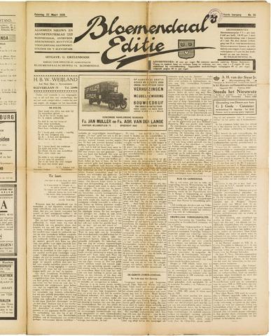 Bloemendaal's Editie 1929-03-23