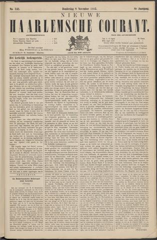 Nieuwe Haarlemsche Courant 1883-11-08