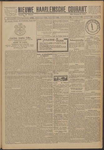 Nieuwe Haarlemsche Courant 1925-02-23