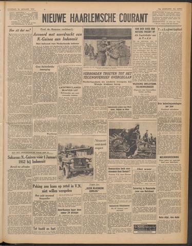 Nieuwe Haarlemsche Courant 1951-01-16