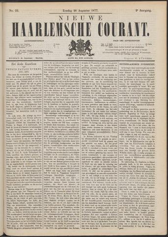 Nieuwe Haarlemsche Courant 1877-08-26