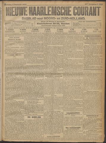 Nieuwe Haarlemsche Courant 1915-09-13