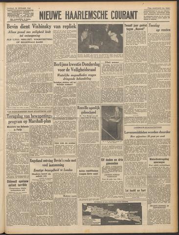 Nieuwe Haarlemsche Courant 1948-09-28