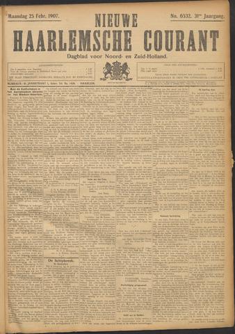 Nieuwe Haarlemsche Courant 1907-02-25