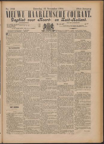 Nieuwe Haarlemsche Courant 1904-11-12