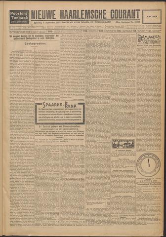 Nieuwe Haarlemsche Courant 1925-09-05