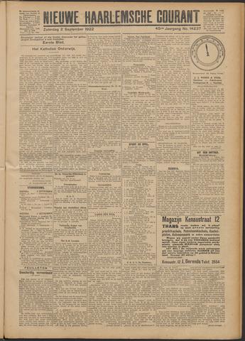 Nieuwe Haarlemsche Courant 1922-09-02