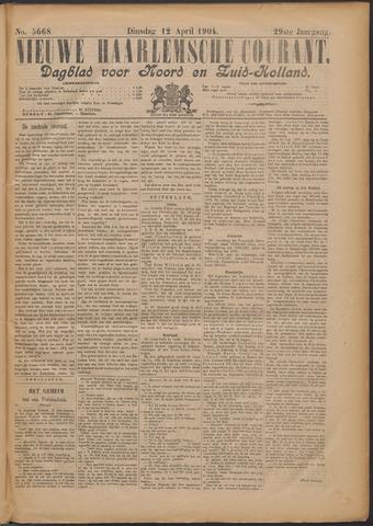 Nieuwe Haarlemsche Courant 1904-04-12