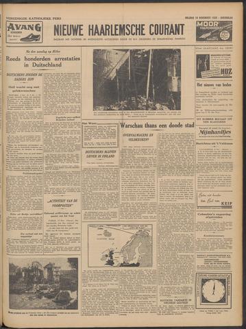 Nieuwe Haarlemsche Courant 1939-11-10