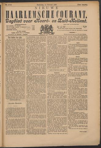 Nieuwe Haarlemsche Courant 1901-02-14