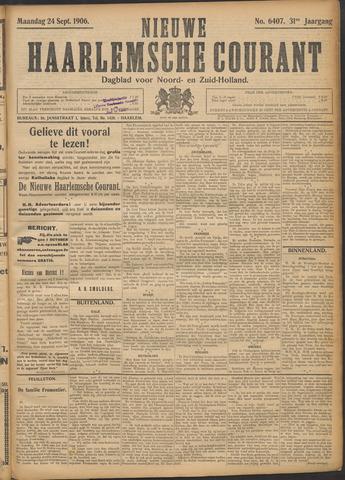 Nieuwe Haarlemsche Courant 1906-09-24