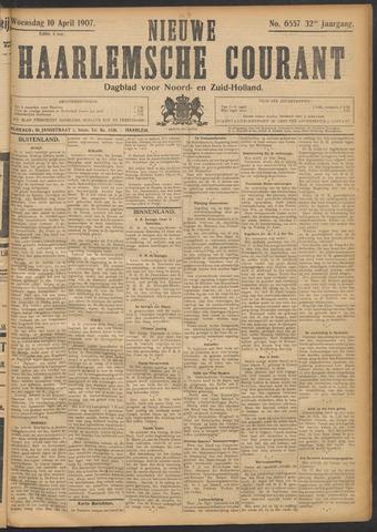 Nieuwe Haarlemsche Courant 1907-04-10