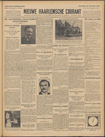 Nieuwe Haarlemsche Courant 1934-01-29
