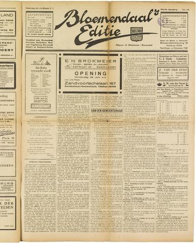 Bloemendaal's Editie 1928-06-23