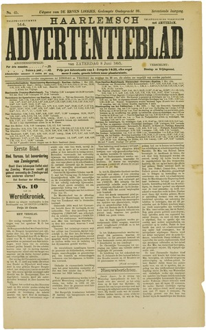 Haarlemsch Advertentieblad 1895-06-08