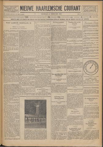 Nieuwe Haarlemsche Courant 1930-02-25