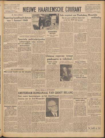 Nieuwe Haarlemsche Courant 1948-12-03