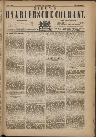 Nieuwe Haarlemsche Courant 1893-08-23