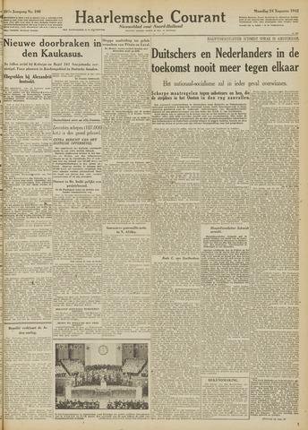 Haarlemsche Courant 1942-08-24