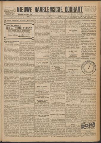 Nieuwe Haarlemsche Courant 1927-04-13
