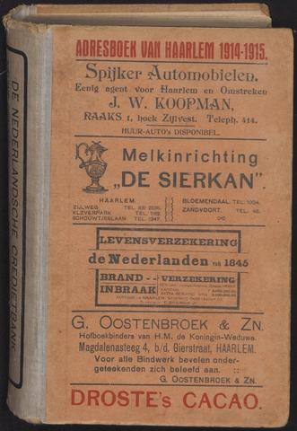 Adresboeken Haarlem 1914