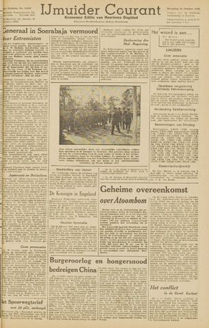 IJmuider Courant 1945-10-31