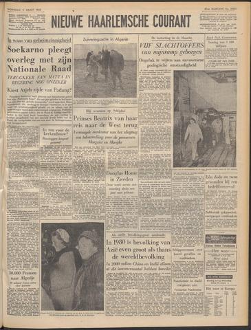 Nieuwe Haarlemsche Courant 1958-03-05