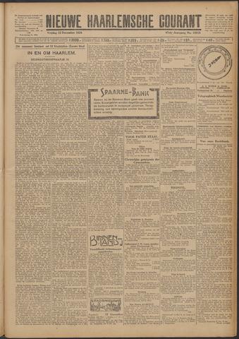 Nieuwe Haarlemsche Courant 1924-12-12