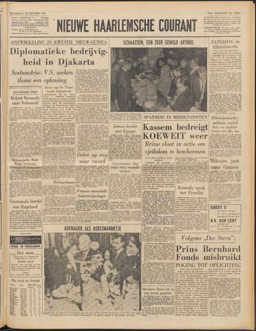 Nieuwe Haarlemsche Courant 1961-12-28