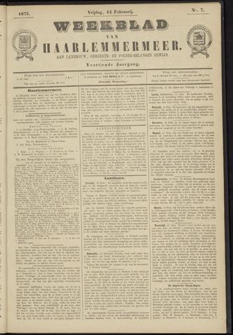 Weekblad van Haarlemmermeer 1873-02-14