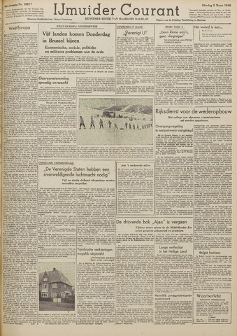 IJmuider Courant 1948-03-02