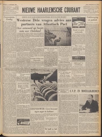 Nieuwe Haarlemsche Courant 1952-09-06