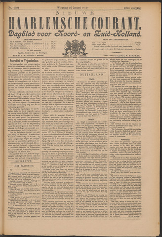 Nieuwe Haarlemsche Courant 1899-01-25