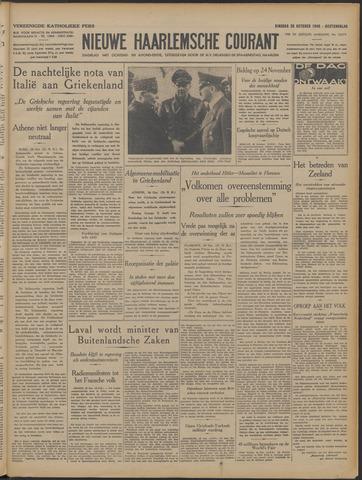Nieuwe Haarlemsche Courant 1940-10-29