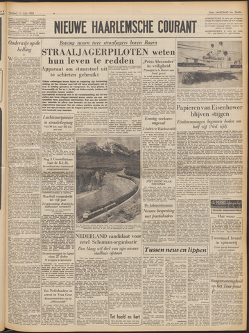 Nieuwe Haarlemsche Courant 1952-07-11