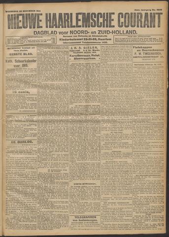 Nieuwe Haarlemsche Courant 1914-12-23