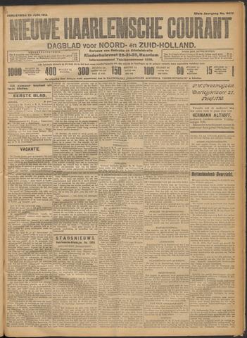 Nieuwe Haarlemsche Courant 1914-06-25