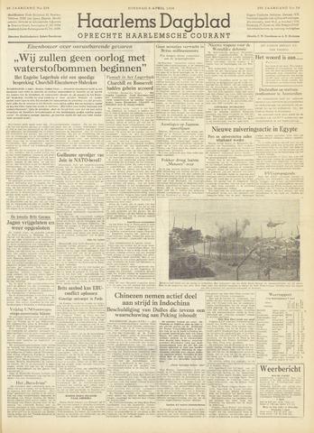 Haarlem's Dagblad 1954-04-06
