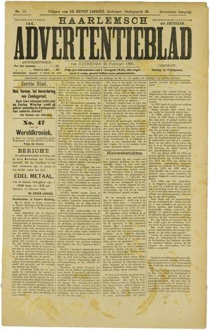 Haarlemsch Advertentieblad 1895-02-23