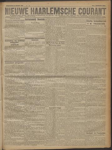 Nieuwe Haarlemsche Courant 1919-03-13