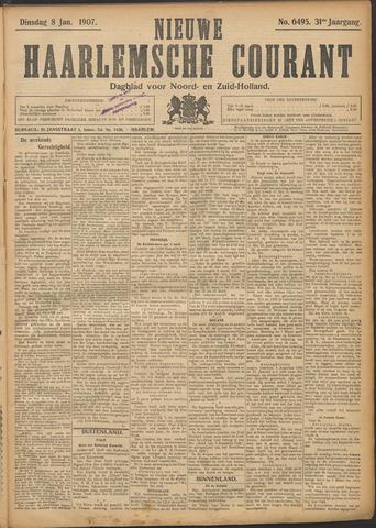 Nieuwe Haarlemsche Courant 1907-01-08