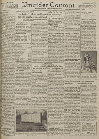 IJmuider Courant 1948-04-22