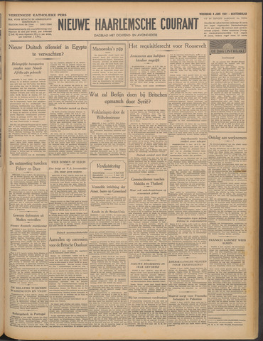 Nieuwe Haarlemsche Courant 1941-06-04