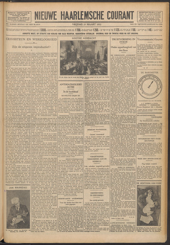 Nieuwe Haarlemsche Courant 1932-03-25