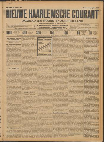 Nieuwe Haarlemsche Courant 1910-04-29