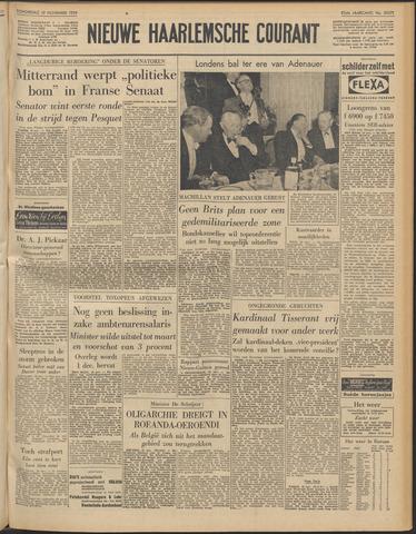 Nieuwe Haarlemsche Courant 1959-11-19